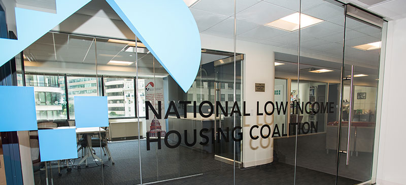 National Low Income Housing Coalition doors