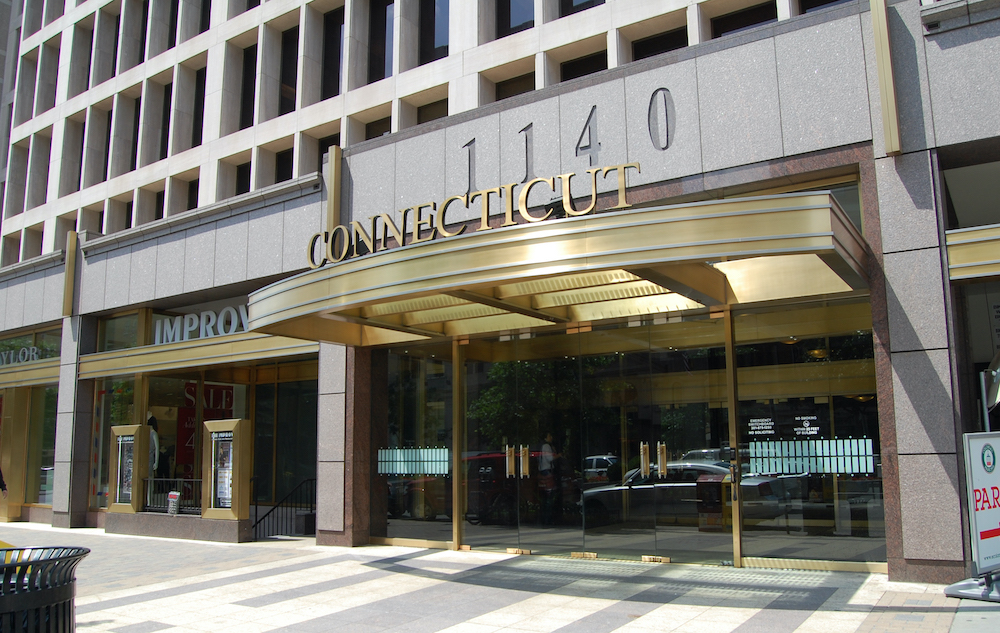 image of outside of building located at 1140 Connecticut Avenue